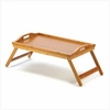 Bamboo Serving Tray or Versatile Bed Tray