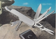 Royal Crest Silver Star 14  Function Multi-Blade Pocket Knife