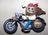 Motorcycle Road Magnet  Rosie or Road Rash