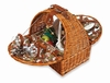 Picnic Plus Athertyn Woven Willow 2 Person Picnic Basket