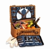 Wynberrie Woven Willow 4 Person Picnic Basket