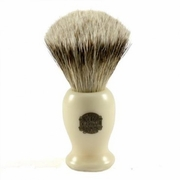 Progress Vulfix Super Badger Hair Shaving Brush  660, Medium Cream Handle