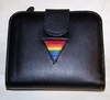 Gay Pride Leather Square Clutch Wallet