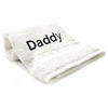 Bedroom Hand Towel  Embroidered   Daddy