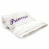Bedroom Hand Towel  Embroidered   Princess