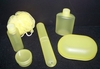 Travel Container Set   PALE YELLOW