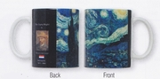 Mug Set   Van Gogh Starry Night  4/set