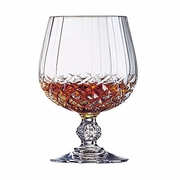 Cristal d'Arques Diamax  Longchamp   Brandy  10.75oz   4/set