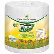 MarcalPro 100% Premium Recycled Toilet Tissue  48 rolls/case   FREE SHIPPING