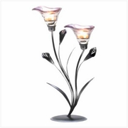 Calla Lily Tea Light Candleholder