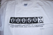 Age 50  Odometer Design T-shirts   XX-LARGE ONLY