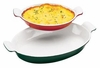 Chasseur Enameled Cast-Iron Oval Casserole Dish  1-1/2QT