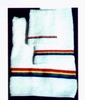 Rainbow Embroidered Bath Towel