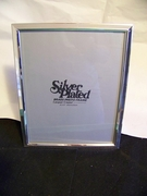 Silver Plated Picture Frame 8 x 10