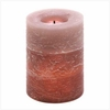 Flameless Candle  Rustic Wood Spice