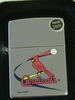 Zippo Lighter MLB Cardinals High Polish Chrome