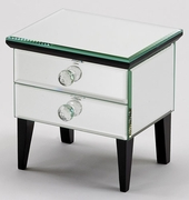 Mirrored Jewelry Box  Vesta  2 Drawers