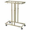 ALVIN® Mobile Rack for Blueprints Holds 12 Clamps
