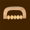 Body Massager Wood Hand Grip