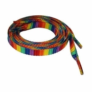 Gay Pride Glitter Rainbow Shoelaces