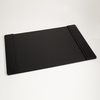 Desk Pad (26 x 17) Black Leather