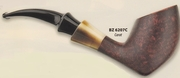 Butz-Choquin Tobacco Pipe Carat  Dark Brown Finish