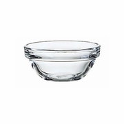 "Luminarc Stackable Kitchen Prep Glass Bowl 3""  12/set"