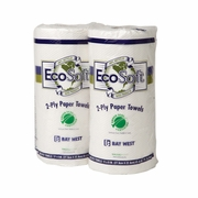 Wausau Paper® EcoSoft™ Green Seal™  Household Roll Towels  30/case