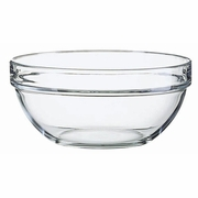 Luminarc Stacking Kitchen Prep Glass Bowls
