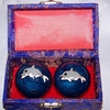 Chinese Relaxation Meditation Therapy Balls with Chimes  Dolphins