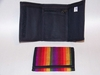 Rainbow Woven Cloth Tri-Fold Wallet