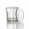 Luminarc Working Glass with White   Lid 14oz  4/set