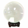 "Quartz Crystal Ball CLEAR  11cm Size (4.25""dia)"