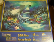 Jigsaw Puzzle Close Encounters by Sherry Vintson 500pc.