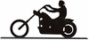 Motorcycle Mailbox Topper Chopper Rider
