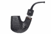 Butz-Choquin Tobacco Pipe Marco Black Rusticated Finish   Shape D