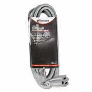 Innovera Indoor Heavy-Duty Extension Cord, 15 Feet, Gray