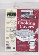 Mircro Tops Microwave Cooking Covers  4pc set