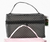 "Polka Dot  ""Go Bag"" Make-up Travel Lingerie Bag  BLACK ONLY"