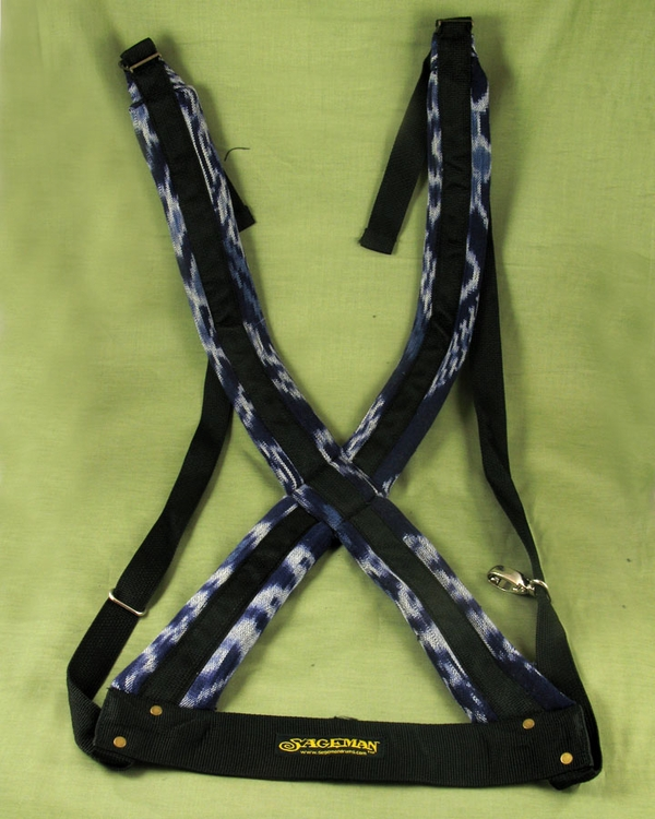 Blue Crossback Harness