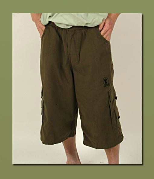 Mens Army Cargo Shorts