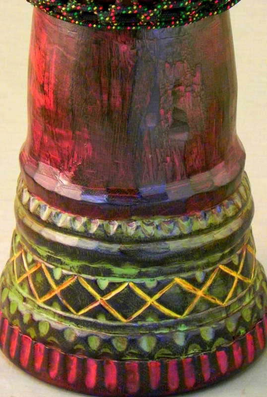 African Style Carved