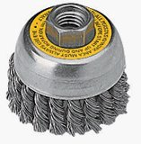 "Dewalt DW4916 4"" Knotted Wire Cup Brush"