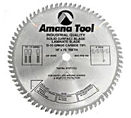 "Amana 610721 10""  72T MTC Solid Surface Saw Blade"