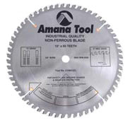 "Amana 510801 10"" 80T TC 5/8"" Bore  Non-Ferrous Metal Saw Blade"