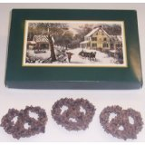 1/2 Lb. Chocolate Large Pretzels with Topping in a Box