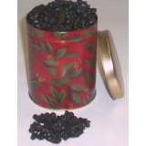 Black Licorice Gummie Bears in a Can