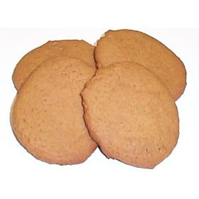 Christmas Ginger Snap Cookies - 1 Pound Box