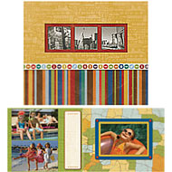 Travel Photo Scrap Combo Album  - Discontinued