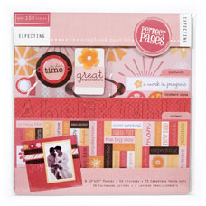 Scrapbook Page Kit - Expecting - Discontinued